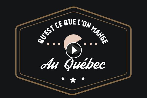qu'est ce qu'on mange au Québec ?