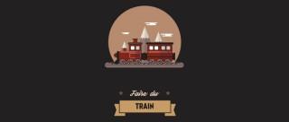 Faire du train