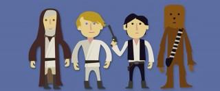 Star Wars en deux minutes